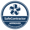 Safecontractor logo | LEV testing Leicester