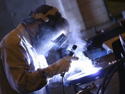 Production of welding fumes
