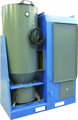 High Vacuum Filtration Unit with nozzles and tools for cleaning