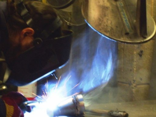 Free welding fume extraction supplied to Remploy
