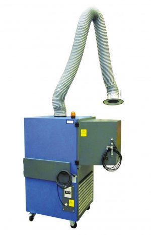 SFPT-W3 mobile dust and fume filtration unit
