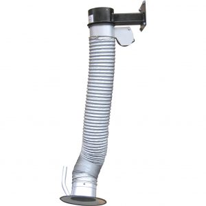 TGI extraction arm for the extraction of welding smoke, light dusts and gases